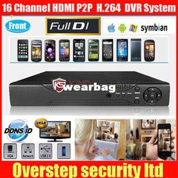 Wholesale Stand Dvr 16 - Wholesale-16 Channel HDMI 400 480FPS H.264 Securty Stand-alone Network DVR,16ch p2p DVR accept 24 languages