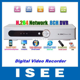Wholesale Dvr Standalone Ch - Wholesale-CCTV Security H.264 8 CH Channel Network DVR Standalone Digital Video Recorder free shipping china post
