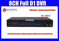 25fps All'ingrosso-HDMI 8CH PIENO 960H CCTV DVR completa D1 NVR HVR DVR 960H ogni canale IPhone, Android Phone Remote View