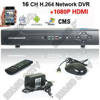 Wholesale Stand Dvr 16 - Wholesale-H.264 16CH cctv Realtime Stand alone DVR recorder mini 16 channel DVR