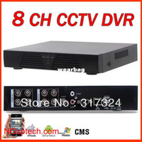 Wholesale Ch H 264 Full - Wholesale-free shipping 8 CH Full D1 H.264 DVR Standalone Super DVR ,best CCTV DVR recorder