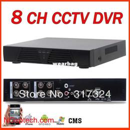 Wholesale Dvr Standalone Ch - Wholesale-free shipping 8 CH Full D1 H.264 DVR Standalone Super DVR ,best CCTV DVR recorder