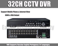 Wholesale Standalone 32ch Dvr - Wholesale-32 Channel Stand alone CCTV DVR Recorder with HDMI VGA output 4ch Audio 8ch Alarm 32ch Security standalone surveillance DVR