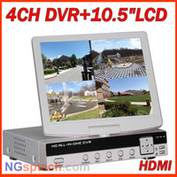 All'ingrosso-D1 4 ch HDMI CCTV in tempo reale DVR con 10.5