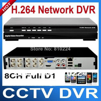All'ingrosso-CCTV 8channel D1 DVR 960H video Full Digital registratore in tempo reale di sostegno Mobile Monitor Network Security DVR per il sistema TVCC