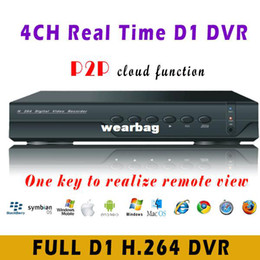 Wholesale Dvr Cctv 4ch 3g - Wholesale-4CH CCTV DVR With P2P Free DDNS 3G Mobile Phone View Multilanguage 4 channel Standalone DVR Recorder FreeShipping