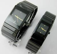 modern erkekler seyretmek toptan satış-Unisex Lüks Kadın Saatler Lady Ünlü Marka Modern erkek Qaurtz Moda Siyah Seramik İzle Bayanlar Casual Tasarımcı Erkek Spor Saatı