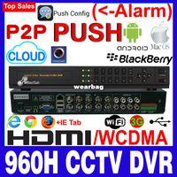 Wholesale Dvr Wd1 - Wholesale-MilanTek FULL WD1 960H 8 Ch CCTV DVR Recorder support 1SATA up to 4TB ,ML-8608XQ-C1