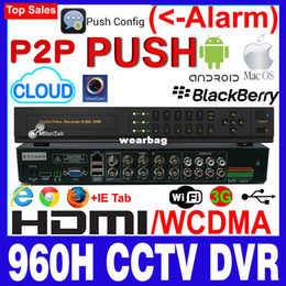 Wholesale Dvr Wd1 - Wholesale-MilanTek FULL WD1 960H 8 Ch CCTV DVR Recorder support 1SATA up to 4TB ,ML-8608XQ-C1
