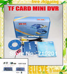 Wholesale Digital Video Recorder Ch - Wholesale-1 Ch SD Card Mini CCTV DVR, With motion detect, High quality Digital Video Recorder, AV Recorder, Free Shipping