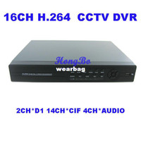Atacado-16CH Standalone Rede CCTV DVR H.264 SECURITY 16 canais CCTV DVR Gravador de vista iPhone Android
