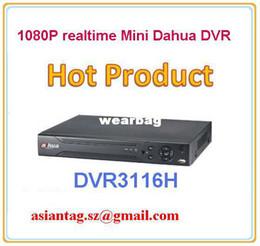 Wholesale Dvr Standalone 16ch Realtime - Wholesale-freeshipping dahua 16ch realtime 1080P mini standalone HDMI dvr DVR3116H