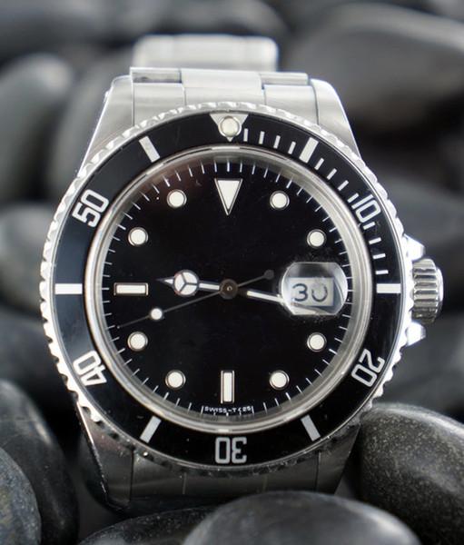 무료 배송 핫 세일 럭셔리 시계 자동 남자 다이빙 watche 자동 날짜 R01