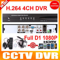 Al por mayor-H.264 DVR 4CH D1 RS485 red móvil 3G 1080P HDMI red independiente del CCTV DVR DVR-6204H