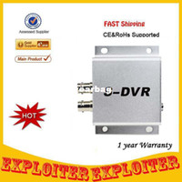 Wholesale Wholesale Dvr S - Wholesale-Single Channel Video Backup Mini DVR Support TF card S-DVR - Silver ,Free Shipping