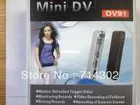 Wholesale Motion Camera Trigger - Wholesale-free shipping High Definition Digital Video Camera DV91 with PC camera function - Motion Detection Trigger Video DV91