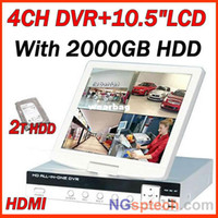 Al por mayor-HDMI 4CH D1 DVR con 10.5