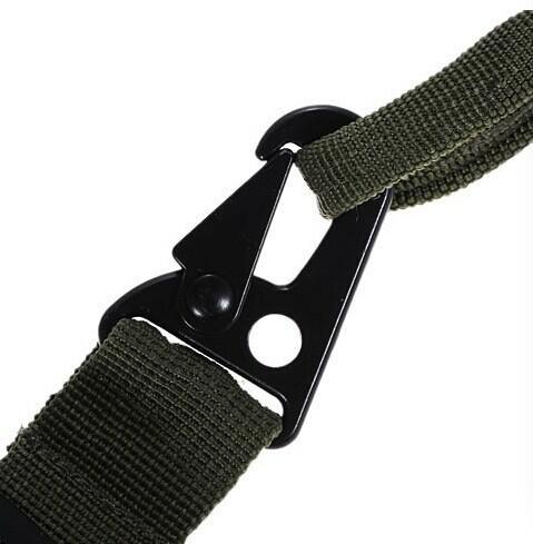 NEUE Durable 3-Punkt Schwarz Gewehrgewehr Sling Bungee Rifle Gun Sling einstellbar HOT