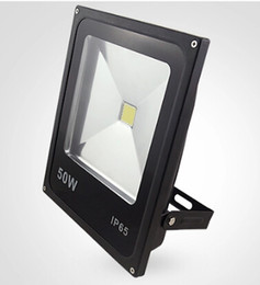 Floodlight Prices UK - Wholesale price Ultrathin 50W Warm White Cold White LED Flood Light IP65 Waterproof 5000LM Outdoor High Power Led Floodlight AC85~265V