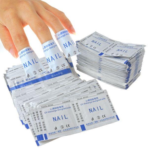 Gel Remover Wraps Nail Art Soak Off UV LED Gel Nail Polish Remover Nail Tools For Nail Salon