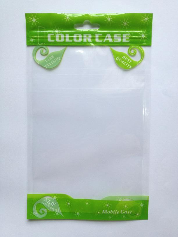 12 * 20 cm Clear window Zip serrure cadeau cas de téléphone portable écouteur boutique de cadeaux fermeture éclair sac d'emballage OPP PP PVC Poly sac en plastique d'emballage