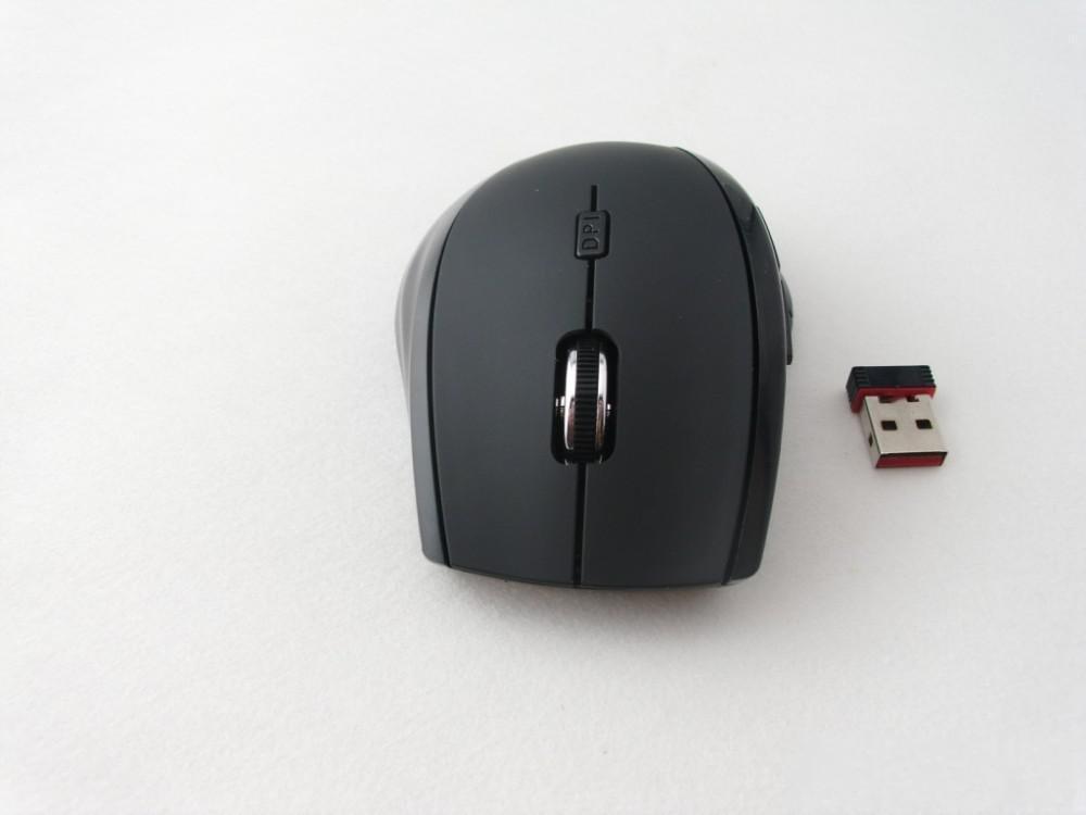 Commercio all'ingrosso - Mouse ottico Rapoo 7300 2.4G Wireless 4 pulsanti Mouse ottico + NANO USB Receiver PC Laptop Mac Spedizione gratuita