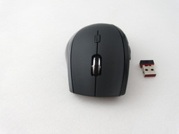 Wholesale Mouse Rapoo - Wholesale - OEM Rapoo 7300 2.4G Wireless 4 Buttons Optical Mouse + NANO USB Receiver gaming mouse for PC Laptop Mac Free shipping