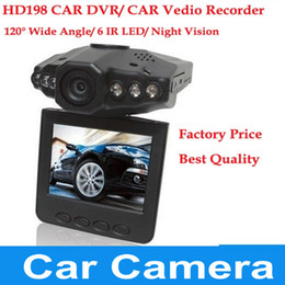 "Wholesale H198 Usb - Lowest Price free shipping wholesale car dvr 2.5"" LCD Screen 6 IR LED Night Vision Car Camera Recorder DVR-3"