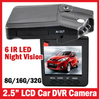 """Wholesale Usb Camera Ir Led - New Arrival & Powerful HD198 Car Camera 6 IR LED Car video recorder for night vision Car DVR with 2.5"""" Screen 120 angle DVR-3"""