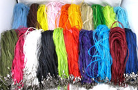 Easter organza ribbon cord - Mixed Color Organza Voile Ribbon Necklace Cord Chains Jewelry DIY cm