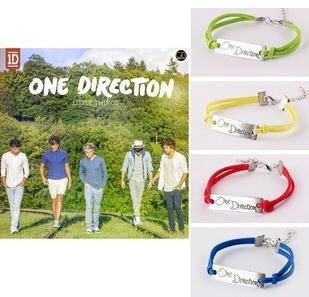 One Direction Logo 1D Bracelets Yellow Green Red Blue ...