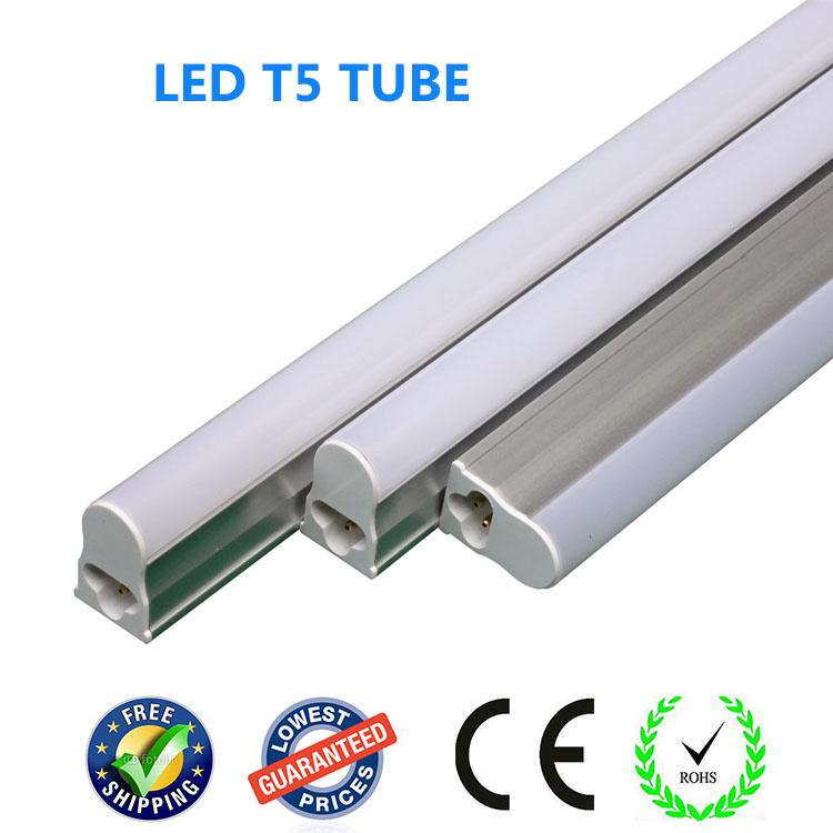 integrated t5 led tube light 300mm 4w 30cm 1foot led fluorescent light lamp bulb lighting. Black Bedroom Furniture Sets. Home Design Ideas