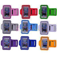 Wholesale Waterproof 4s Case - For iphone 5 5S 4 4S Sport Armband Gym Case Cover Pouch Bag Belt Waterproof phone