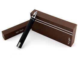 Wholesale Dhl Free Ego Lcd - 2015 EGO V V3 Mega 1300mah LCD Battery Variable Voltage Wattage EGO-VV3 Battery Vape Pen DHL Free Shipping
