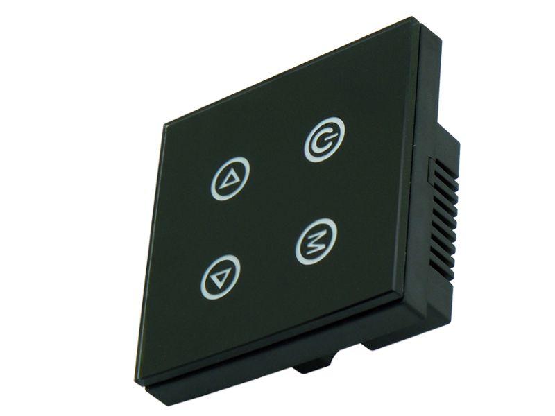 4 Keys Button Touch Panel Dimmer & Switch Controller DC12V-24V TM02 For Single Color LED Strip Light