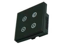 botões de luz de cor led venda por atacado-Frete Grátis 4 Teclas Botão Painel de Toque Interruptor Dimmer Controlador DC12V-24V TM02 Para Cor Única Tira CONDUZIDA Da Luz