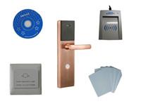 Wholesale Hotel Card Locks System - Free ship by DHL, hotel lock system, sample include IC hotel lock, usb hotel encoder ,energy saving switch,IC card ,sn:CA-8035