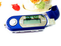 mp3 player aaa battery - HOT SALE REAL GB MEMORY AAA battery USB Digital mp3 Players Voice recorder FM radio lcd screen