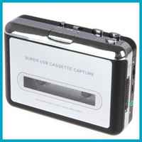 Wholesale Dvd Capture - Portable USB Cassette Player Capture Cassette Recorder Converter Tape-to-MP3 Auto Reverse-Stereo-Hi-Fi-Mega Bass, Free Shipping
