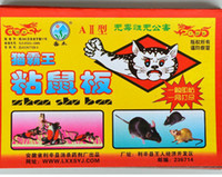Wholesale Sticky Traps - 10pcs lot Strong Mice sticky paper Green nontoxic Scent attractant Eliminate rat capture trap Deratting