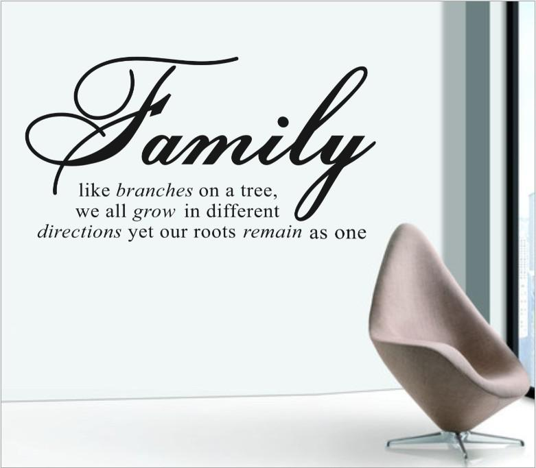 Family Like Branches On A Tree Wall Papers Home Decor Modern