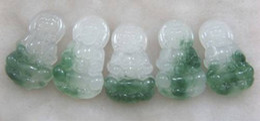 Wholesale Carved Kwan Yin Pendants - carved 5 Kwan-yin Pendant