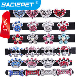 Wholesale Collars For Big Dogs - Big Sale! Fashionable 10mm Slide Charm DIY for Dog Pet Collar Pet Jewelry Pet Fashion