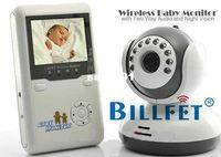 "Wholesale One Digital Monitor - Wholesale-Baby Monitor 2.4G Wireless Digital IR Video Talk one Camera Night Vision 2.4""LCD Intercom Free shipping!!"