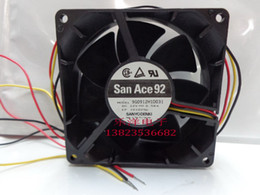 Ball Alarm Canada - New Original Sanyo 9G0912H1D031 DC12V 0.58A 9cm Alarm Signal dual ball bearing cooling fan