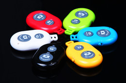 Wholesale Timer Camera Remote Control Wireless - hot selling Smart phone tablet Wireless Bluetooth Remote photo Camera Control Self-timer Shutter