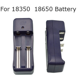 Wholesale universal t - Free DHL,E Cigarette Battery Charger Dual Channel Universal Charger for 18650 18350 Battery for ego ego-t ego-w ego-c e-cigarette(1205 Li)