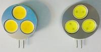 Wholesale G4 7w Cob Led - G4 COB LED Bulb 3W 7W 560 Lumen Diameter 20mm 30mm DC 12V 3 leds Led Lamp Corn Bulb Lights & lighting for Car chandelier warranty 2 year