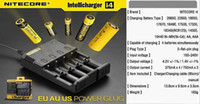 Wholesale Nitecore Sysmax - Nitecore I4 Universal Charger SYSMAX Version 2.0 for CR123A 16340 18650 18500 14500 26650 Battery E Cigarette 4 in 1 Intellicharger