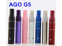 Wholesale Dry Herbs Ago Atomizer - 2015 Ago G5 atomizer dry herb Vaporizer wax atomizer E-Cigarette rda Atomizer tank fit ego EVOD AGO E-Cigarette battery VS GLASS ATOMIZER
